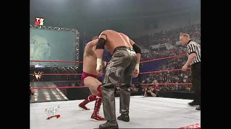 WWF Raw Is War 22 01 2001 Test vs William Regal