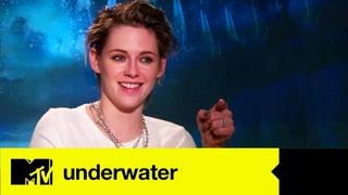 Underwater Star Kristen Stewart Plays Guess The Movie Action Hero | MTV MOVIES