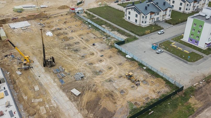 Отчет о ходе строительства квартал «Среда» май 2020, изображение №35