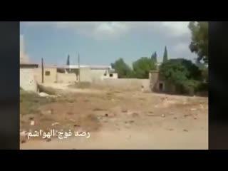 Идлиб, ВКС наносят удары по позициям боевиков