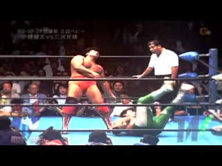 Kenta Kobashi(c) vs. Mitsuharu Misawa Highlights(AJPW October Giant Series 1998/Triple Crown Championship)