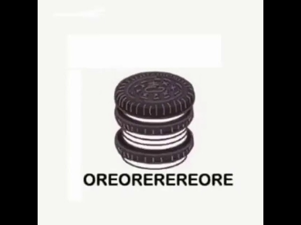Oreo meme