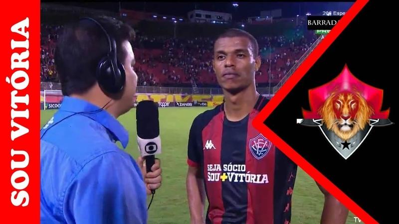 Notícias do Vitória: Confira o que Lucas Cândido falou após empate com América-MG