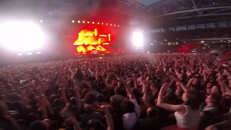 Rammstein - Feuer Frei! (Fan-Zone Extreme Video) [GoPro] (Live in Moscow, 19.06.2016)