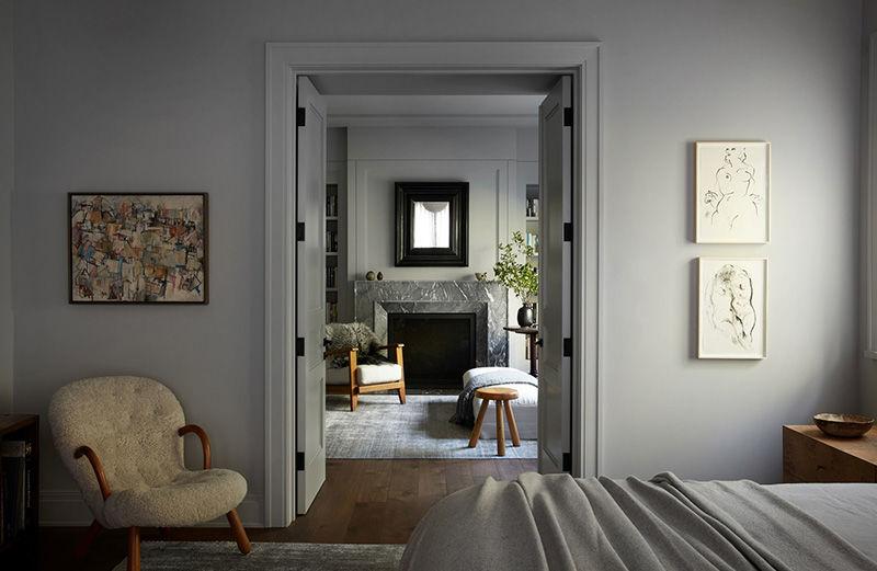 Как изысканная галерея: великолепный дом семьи дизайнера в Калифорнии  || 02