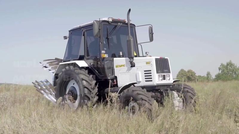 Группа компаний АИС испытала первый в Украине трактор Belarus с газодизельным двигателем!
