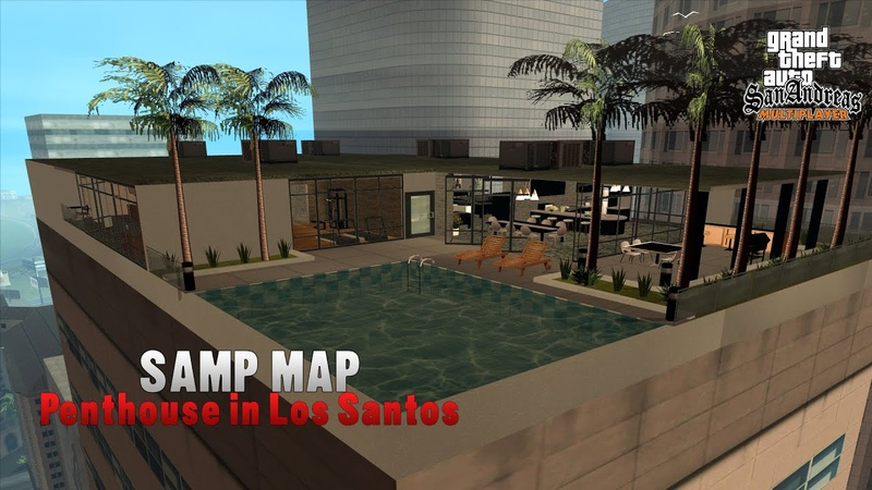 MAP GTA V Online Penthouse Style into SAMP FIRST ONE EVER RELEASED