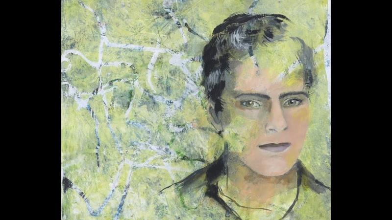 Alice-ART, Ideen für Gelatine-Drucke (2), What to do with Gelli Prints (2) Photo Transfer Portrait