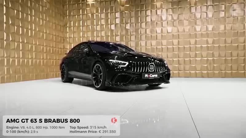 Mercedes AMG GT 63 S (2020) BRABUS 800 - 4 Door Beast from Brabus