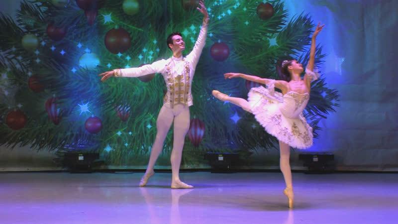 Па де де из балета Щелкунчик исп Галина Гамаш и Сергей Кузьмин