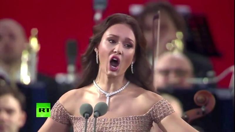 Copa do Mundo 2018 Concerto de Abertura Aida Garifullina Je Veux Vivre Gounod