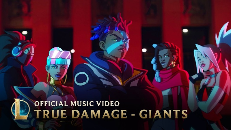 True Damage GIANTS ft Becky G Keke Palmer SOYEON DUCKWRTH Thutmose League of Legends