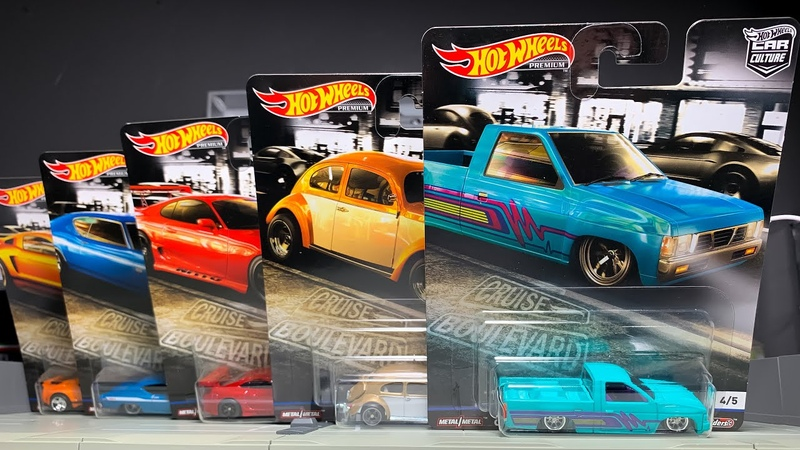 Lamley Showcase: Hot Wheels Car Culture Cruise Boulevard the return of Toyota!