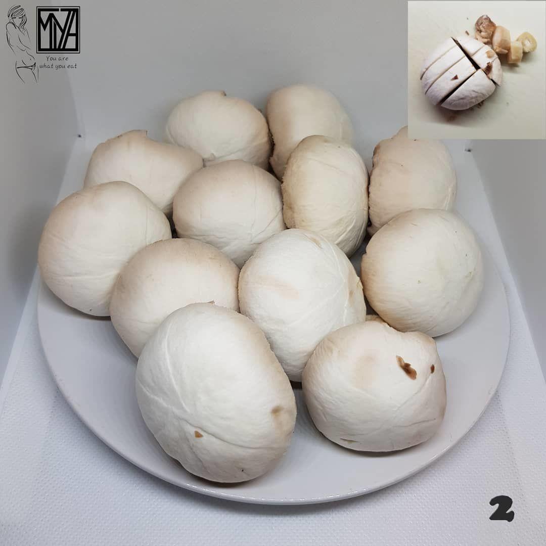 Куриная грудка с грибами в кефире