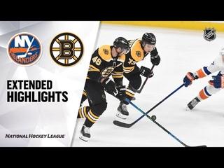 Нью-Йорк Айлендерс - Бостон Брюинз |  | Регулярный чемпионат | Обзор матча