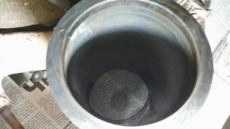 Эмульсия в поддоне двигателя Потекла гильза двс волга змз 402