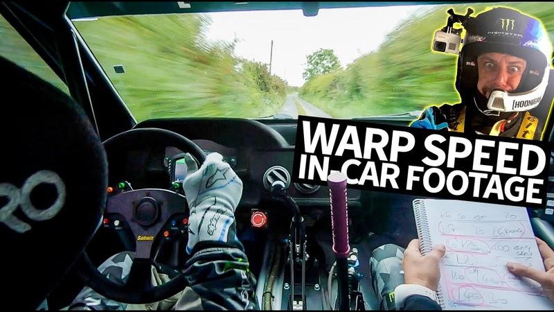 Ken Block's All GoPro Cossie V2 Raw Onboard Footage Irish Tarmac Rally Madness Stage 13 Knockalla