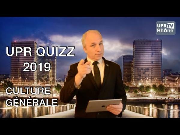 Jeux UPR Quizz 2019