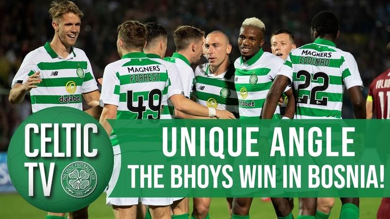 🎥 UNIQUE ANGLE Sarajevo 1 3 Celtic Mikey's belter Eddy's composure Scotty's back heel 👌