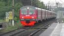 Электропоезд ЭД4М-0003 платформа Чертаново