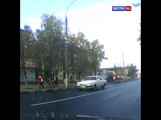 Наглядный пример, как делать НЕ НАДО! Даже если вас пропускают на пешеходном переходе.