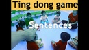 213 - ESL Game for small kids | Ting Dong | Warm-up game for Sentences | Muxi's ESL Games.