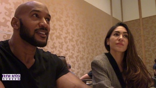 'Marvel's 'AGENTS OF ' Roundtable | Henry Simmons and Natalia Cordova-Buckley