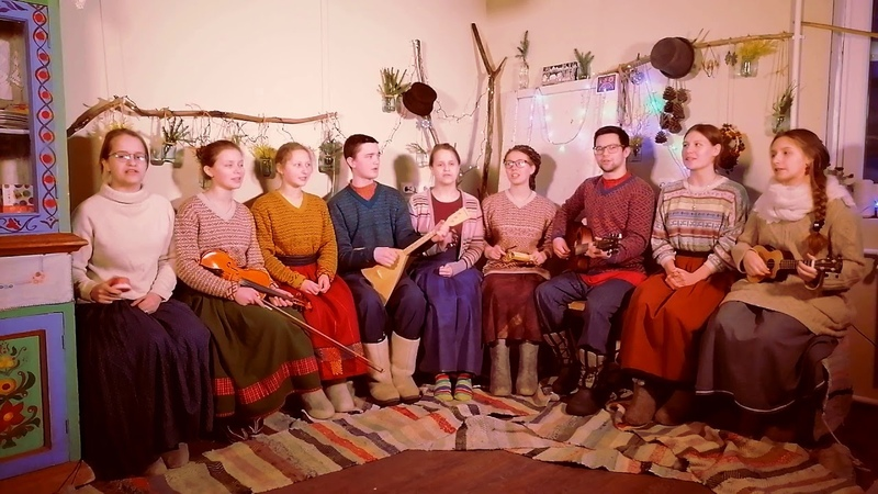 Рождественская колядка Скиния златая ансамбль Улейма Christmas Сarol Golden Tabernacle