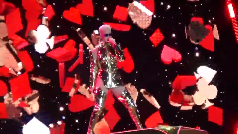 Katy Perry Roulette Буэнос Айрес Аргентина 11 марта 2018