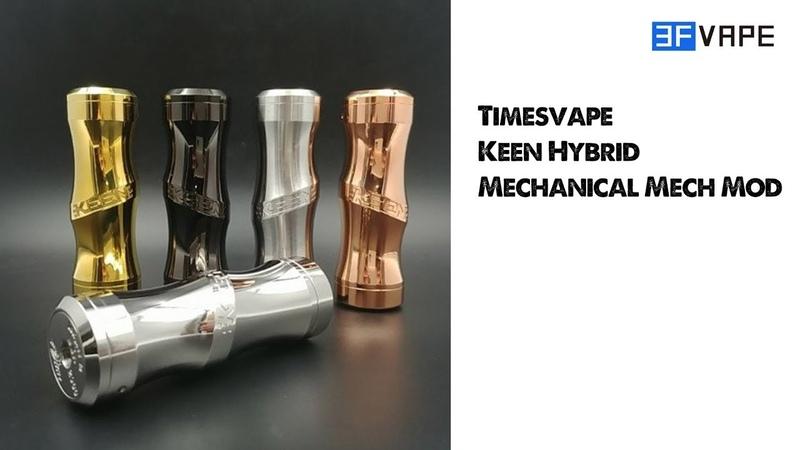Timesvape Keen Hybrid Mechanical Mech Mod