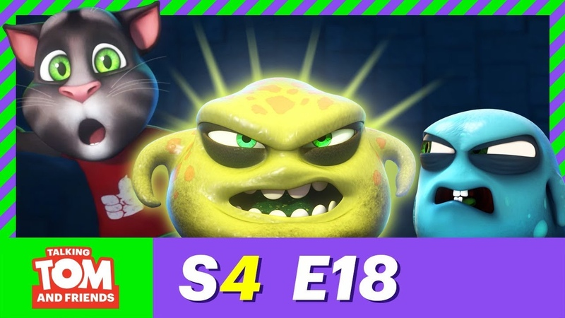PREMIERE! The Bad Germ - Talking Tom and Friends | Season 4 Episode 18