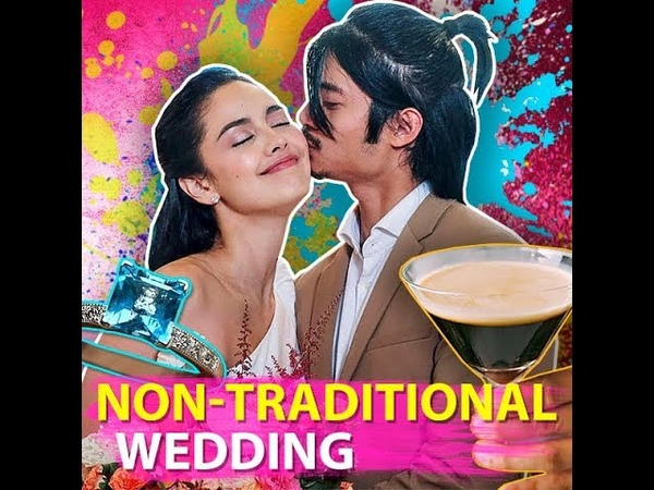 Non traditional wedding KAMI Being true to themselves Megan Young and Mikael Daez