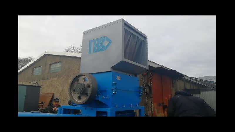 Моющая дробилка PZO-800 DLS