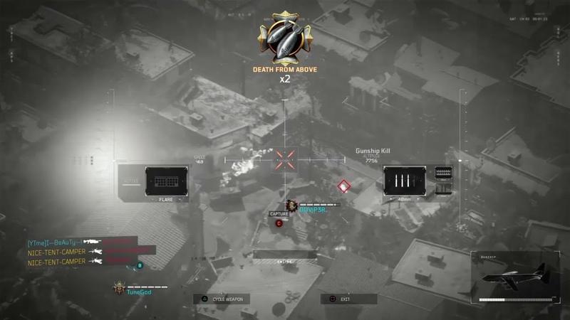 CALL OF DUTY BLACK OPS 4 *NEW* GUNSHIP KILLSTREAK (AC-130)