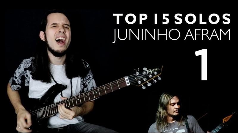 TOP 15 Solos Juninho Afram Oficina G3 Part 1