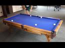 «БЕГОТНЯ» - новая разновидность игры на русском бильярде! 15 забитых шаров за 3 мин. 20 сек.