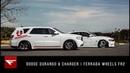 Dodge Durango Charger Bagged Duo Ferrada Wheels FT2 FR5