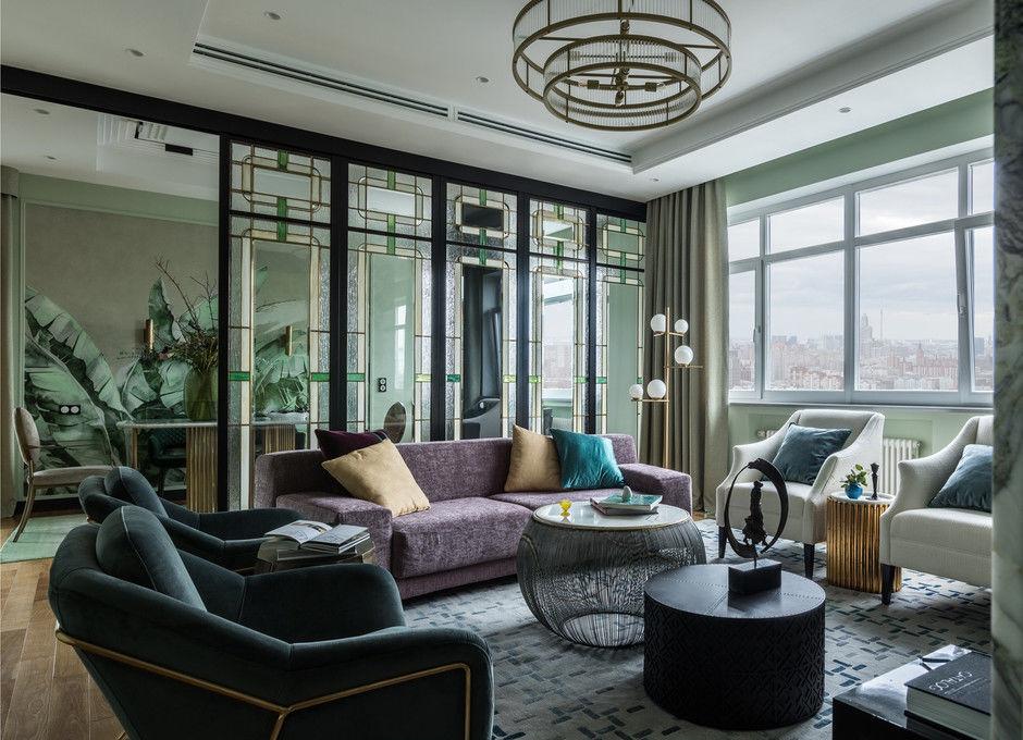 Городской оазис: квартира 170 м² в Москве от Елены Лушкиной и Татьяны Забелиной