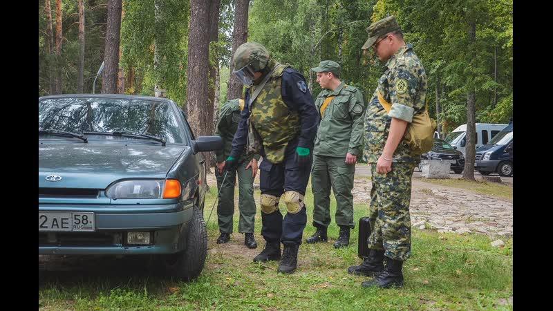 Саперы показали следователям, как обезвредить взрывное устройство