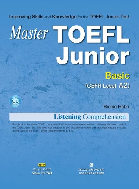 hahn richie master toefl junior basic a2 listening comprehen