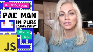 Build PACMAN in vanilla JavaScript, HTML and CSS | Ania Kubow