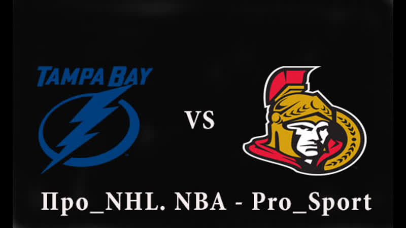 NHL | Lightning vs Senators
