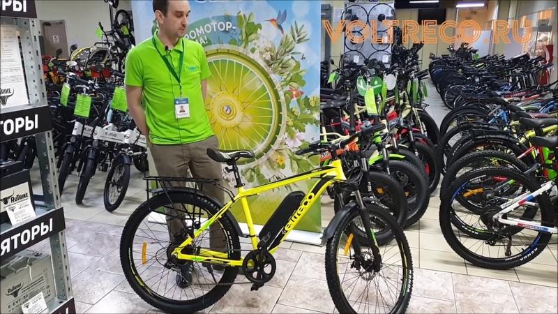 Электровелосипед Eltreco XT 800 Новинка 2020 Обзор Voltreco.ru