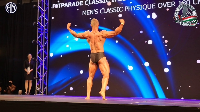 2019 FITPARADE CLASSIC IFBB PRO QUALIFIER - Men's Classic Physique over 180 cm.