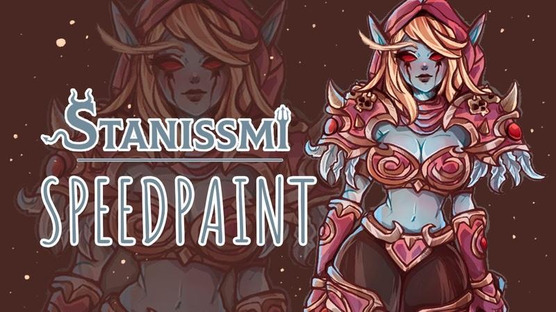SPEEDPAINT Silvana\Warcraft (StanissMi)