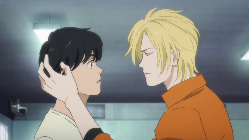 ASH kissed Eiji for a secret mission LOL BANANA FISH
