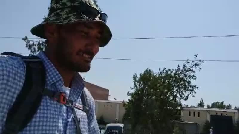Сохиб Раджабов в Джизаке