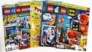 LEGO NINJAGO, БЭТМЕН, STAR WARS, ТРИ КОТА Журналы СЮРПРИЗЫ и ИГРУШКИ по мультикам! Surprise unboxing