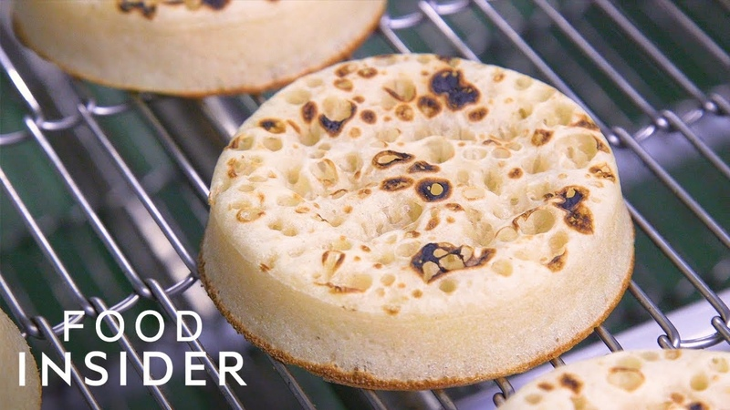 How English Crumpets Are Made At Europes Biggest Bakery | Regional Eats