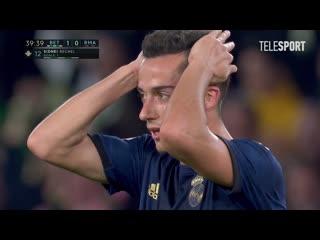 Бетис  Реал Мадрид. Гол Сиднея